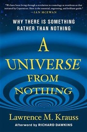 Cover of: A Universe from Nothing