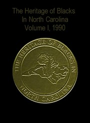 Cover of: The Heritage of Blacks in North Carolina