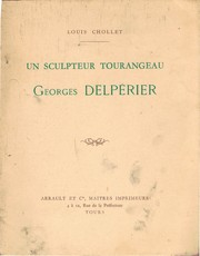 Cover of: Un sculpteur Tourageau Georges Delpérier