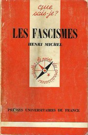 Cover of: Les fascismes
