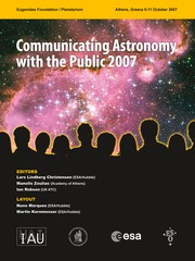 Cover of: Communicating Astronomy with the public 2007