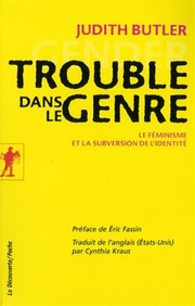 Cover of: Trouble dans le genre