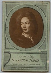 Cover of: Les Caracteres