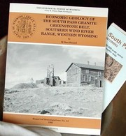 Cover of: Economic Geology of the South Pass Granite-Greenstone Belt, Wind River Mountains, Wyoming