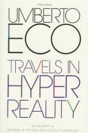 Cover of: Travels in hyper reality: essays