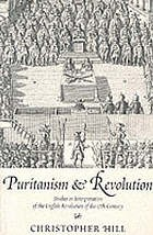 Cover of: Puritanism and Revolution