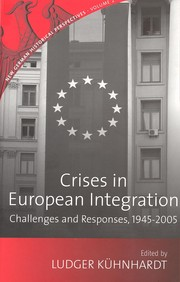 Cover of: Crises in European Integration