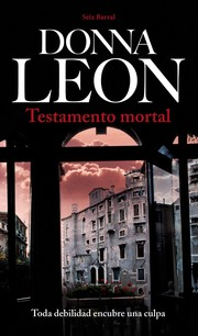 Cover of: Testamento mortal
