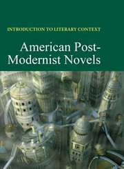 Cover of: American post-modernist novels