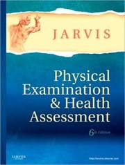 Cover of: Physical Examination and Health Assessment / Edition 6