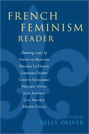 Cover of: French Feminism Reader / Edition 1