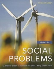 Cover of: Social Problems / 13th Edition