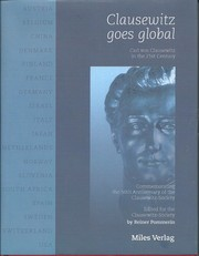 Cover of: Clausewitz goes global