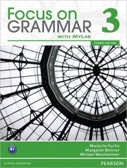 Cover of: Focus on Grammar 3 with MyEnglishLab / Edition 4