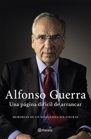 Cover of: Una página difícil de arrancar