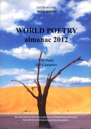 Cover of: WORLD POETRY ALMANAC 2012