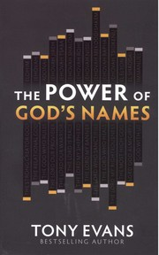Cover of: The Power of God's Names