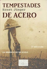 Cover of: Tempestades de acero