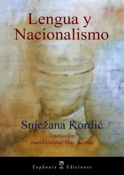 Cover of: Lengua y Nacionalismo
