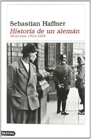 Cover of: Historia de un alemán