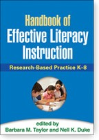 Cover of: Handbook of Effective Literacy Instruction: Research-Based Practice K-8
