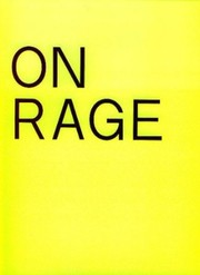 Cover of: On Rage