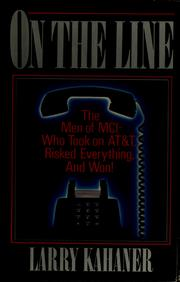 Cover of: On the line
