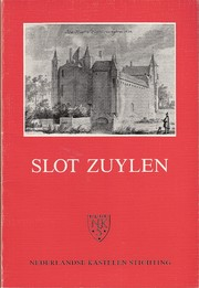 Cover of: Slot Zuylen