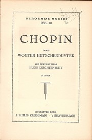 Cover of: Chopin