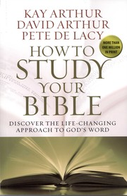 Cover of: How To Study Your Bible
