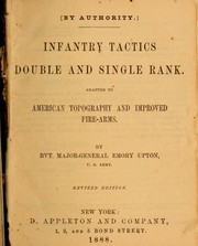 Cover of: Infantry tactics, double and single rank