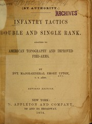 Cover of: Infantry tactics