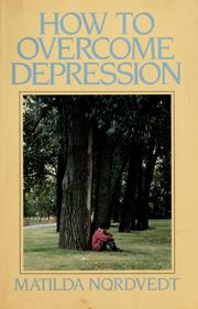 Cover of: How to overcome depression