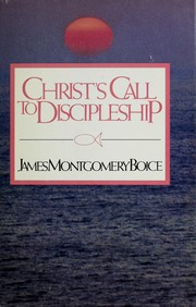 Cover of: Christ's call to discipleship