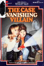 Cover of: The case of the vanishing villain