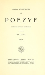 Cover of: Peozye