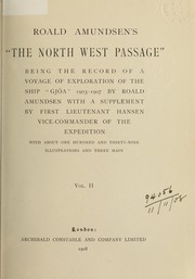 Cover of: The North West Passage