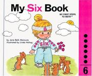 Cover of: My six book