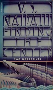 Cover of: Finding the center: two narratives
