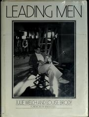 Cover of: Leading men