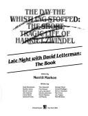 Cover of: Late night with David Letterman
