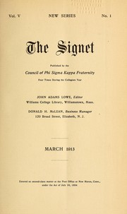 Cover of: The Signet