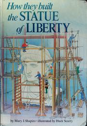 Cover of: How they built the Statue of Liberty