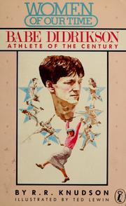 Cover of: Babe Didrikson, athlete of the century