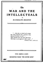 Cover of: The War and the Intellectuals