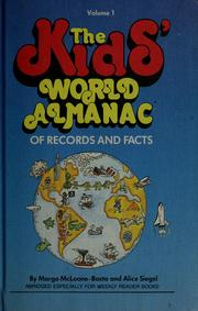 Cover of: The kids' world almanac of records and facts