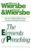 Cover of: The elements of preaching
