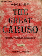 Cover of: The great Caruso