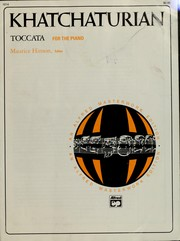 Cover of: Toccata for the piano