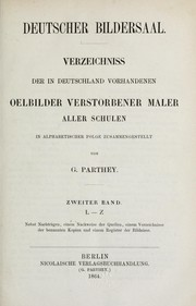 Cover of: Deutscher Bildersaal